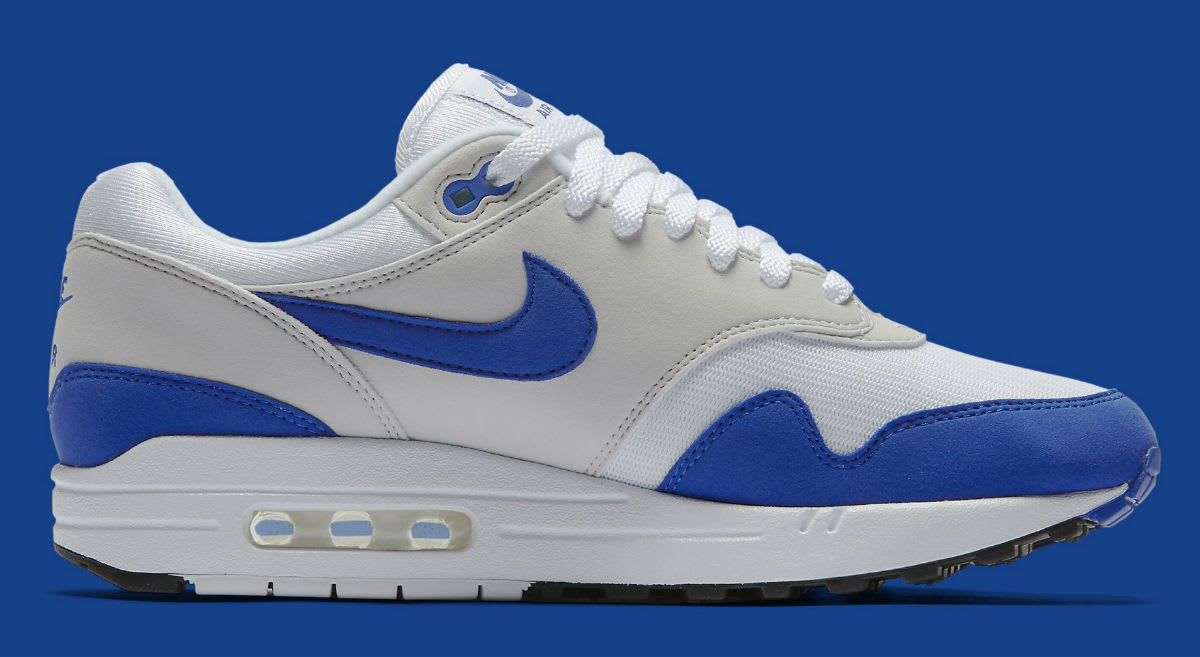 Nike Air Max 1 OG Blue Anniversary Release Date Medial 908375-101