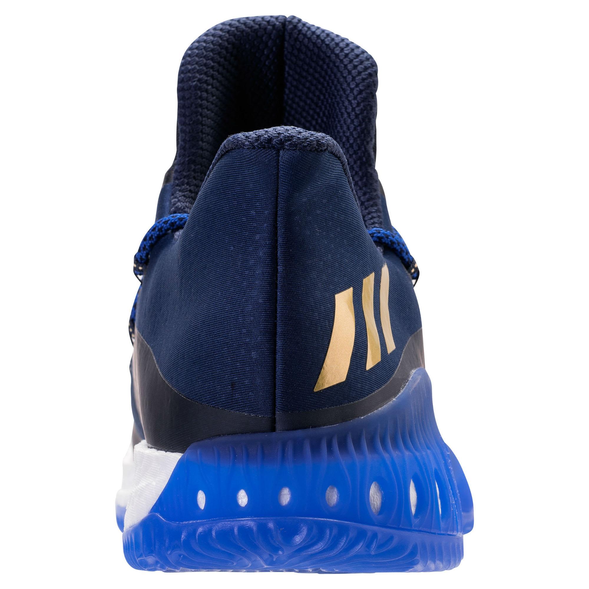 Adidas Crazy Explosive Low Andrew Wiggins PE Heel Release Date BW0571