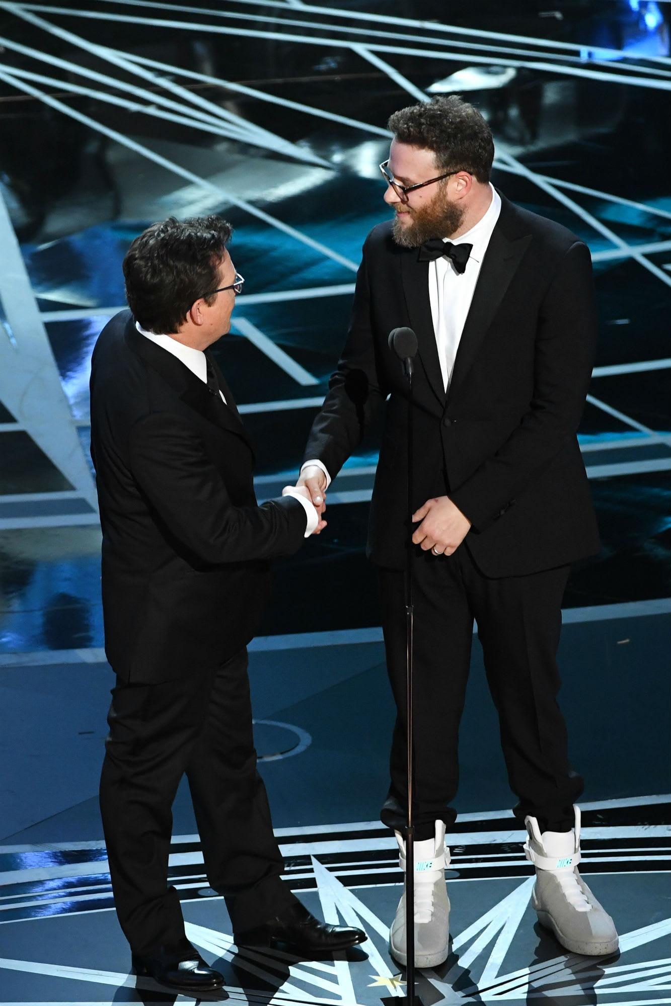 Seth Rogan Nike Mag Oscars (2)