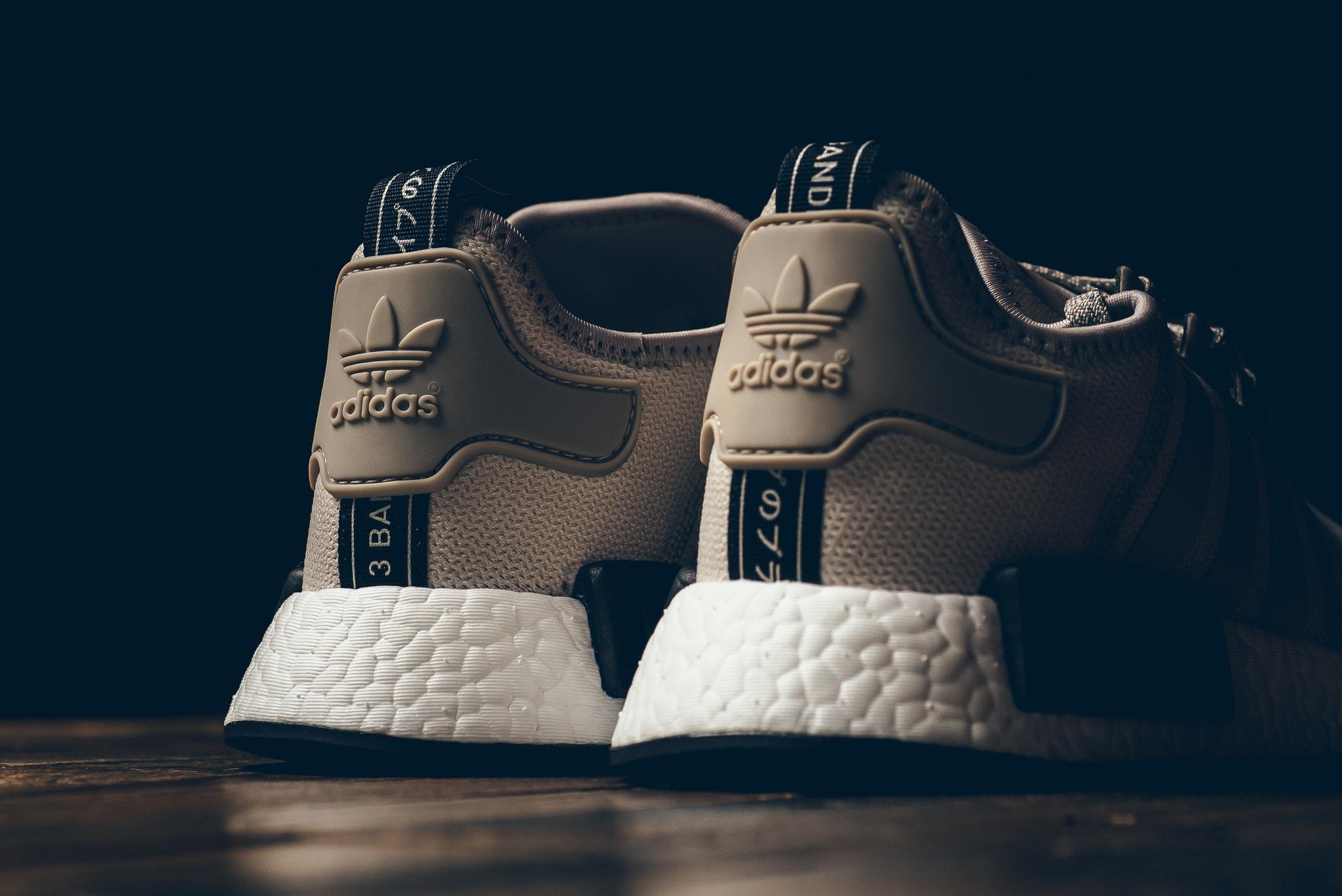 e24b1b5b67326 Adidas NMD R1 Khaki Release Date Heel S76848