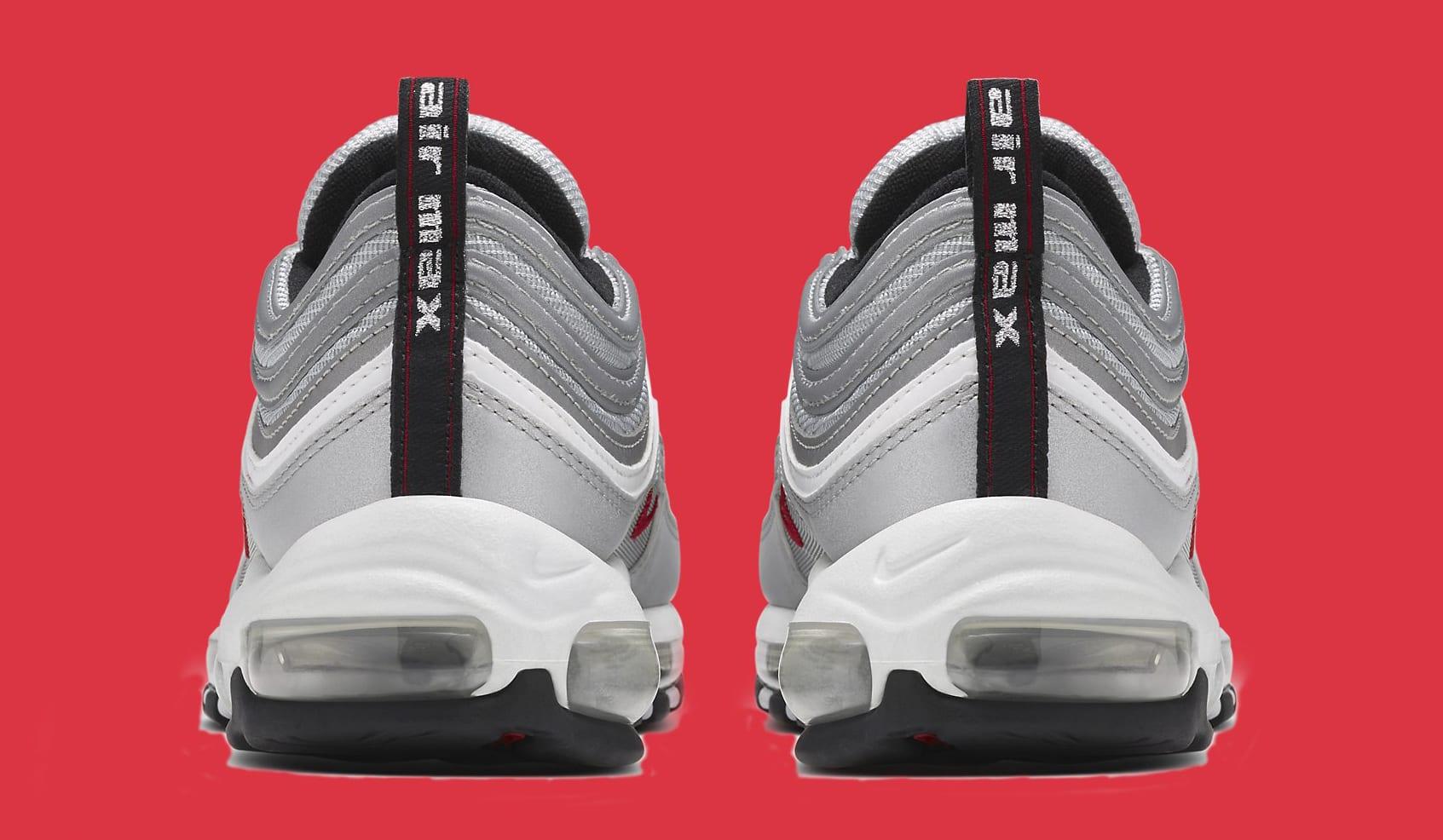 Silver Nike Air Max 97 884421-001 Heel