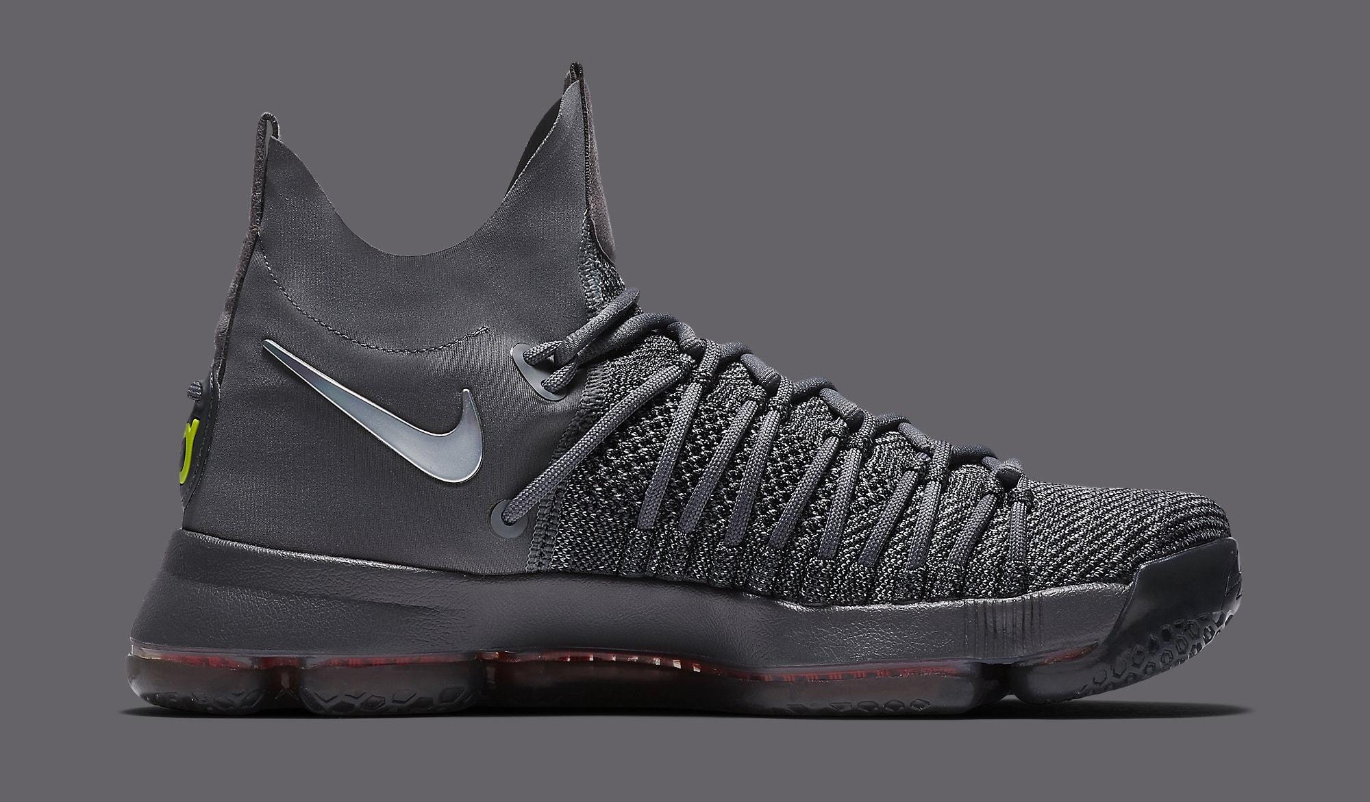 cb829915ca9b1 Image via Nike Nike KD 9 Elite TS EP 909140-013 Grey Medial