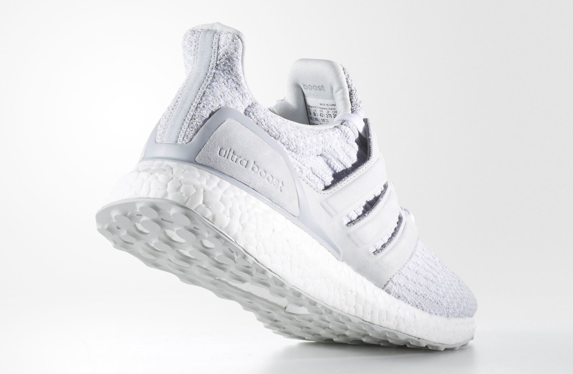 f63d7e9634196 Reigning Champ Adidas Ultra Boost Grey BW1116 Heel