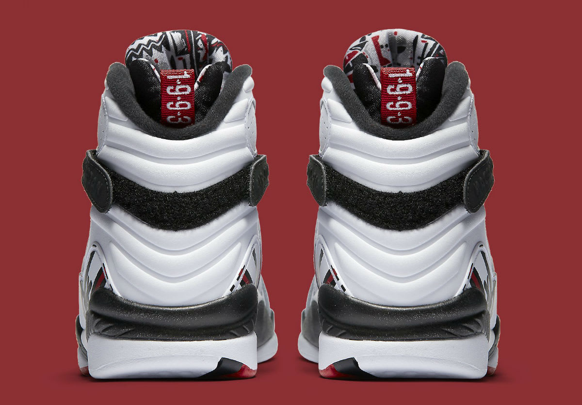 Air Jordan 8 Alternate Release Date Heel 305381-104