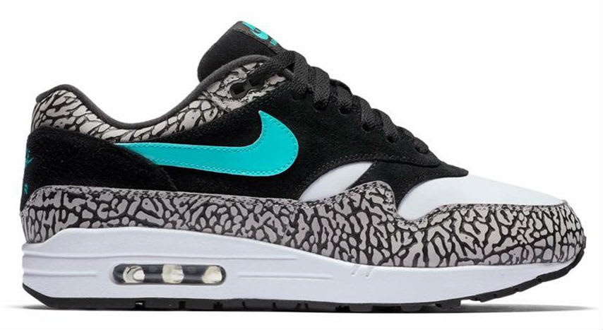 Nike Air Max 1 Atmos Elephant 2017 Release Date Medial
