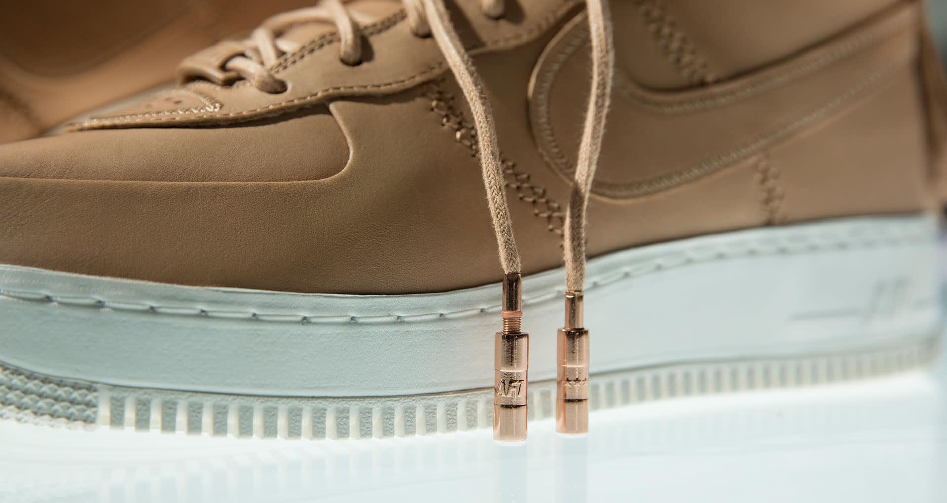 Nike Air Force 1 Sport Luxury Vachetta Tan Aglets