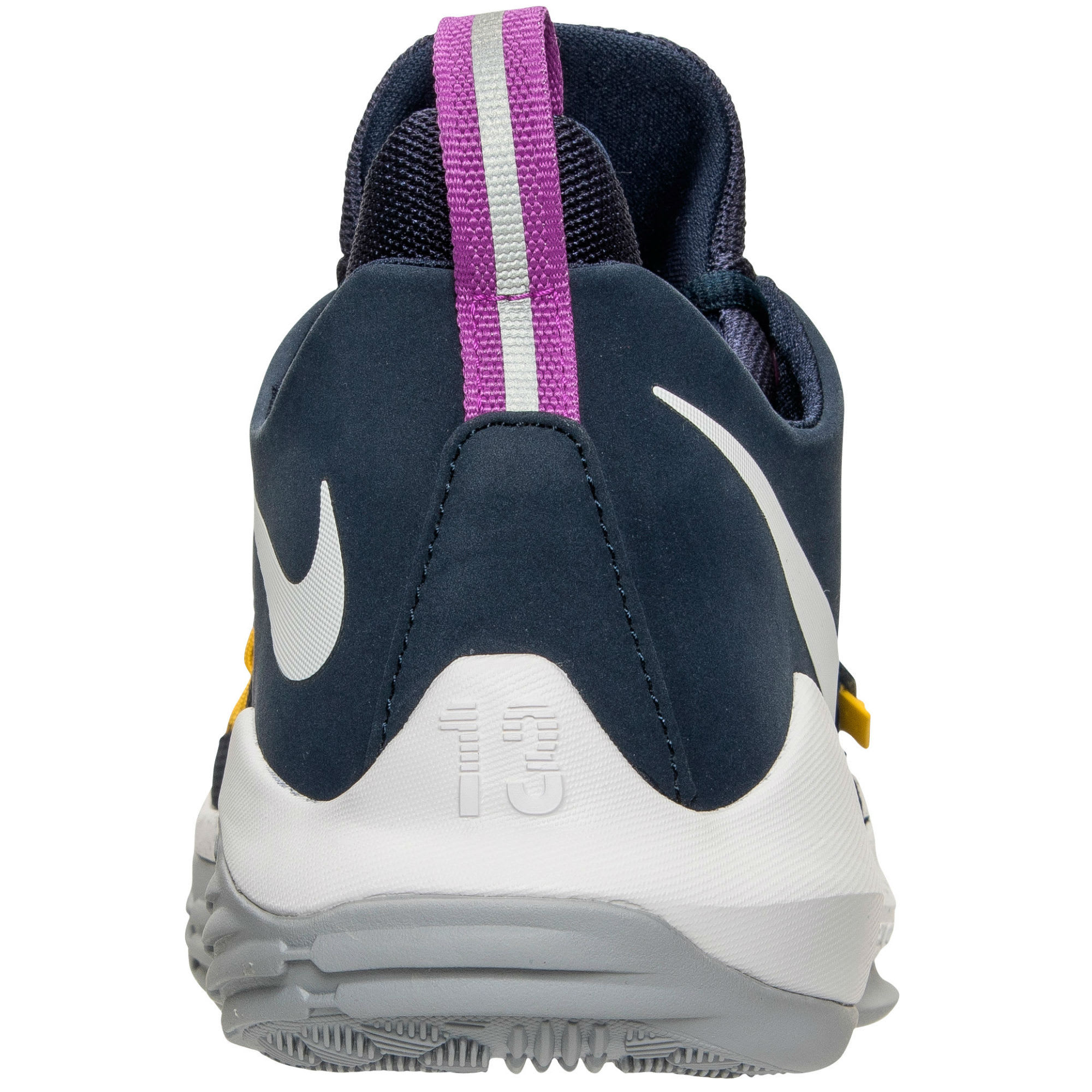 20dd79e86410 Nike PG1 Pacers The Bait Release Date Heel 878627-417