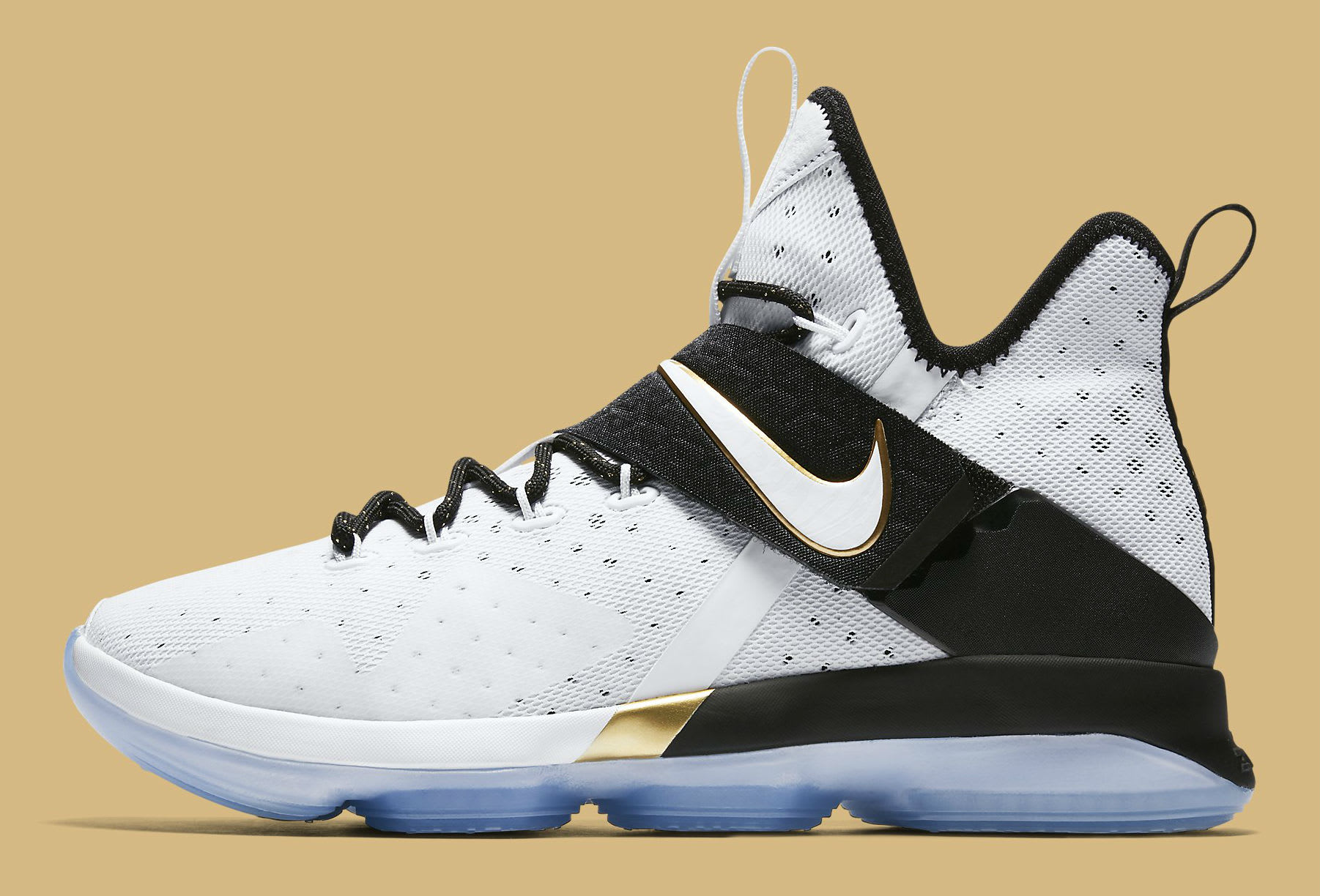 19607f838be7a Nike LeBron 14 BHM Release Date Lateral 860634-100