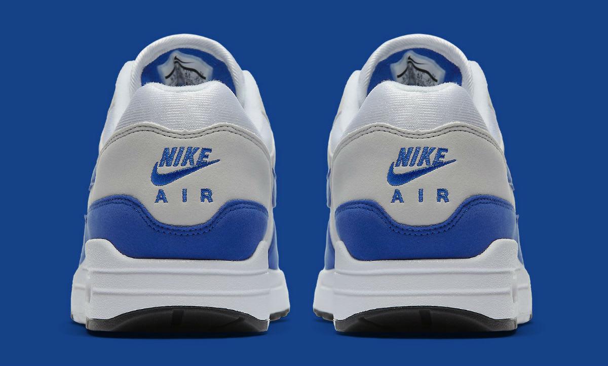 Nike Air Max 1 OG Blue Anniversary Release Date Heel 908375-101