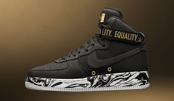 Nike Air Force 1 High BHM 2017