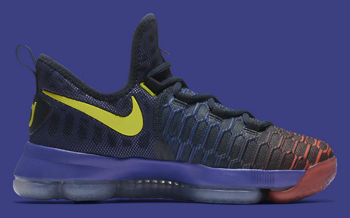 Nike KD 9 Roar From the Floor Release Date Medial 855908-484