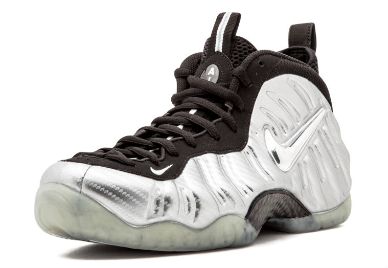 0121fa3a247 Nike Air Foamposite Pro Silver Surfer Toe 616750-004