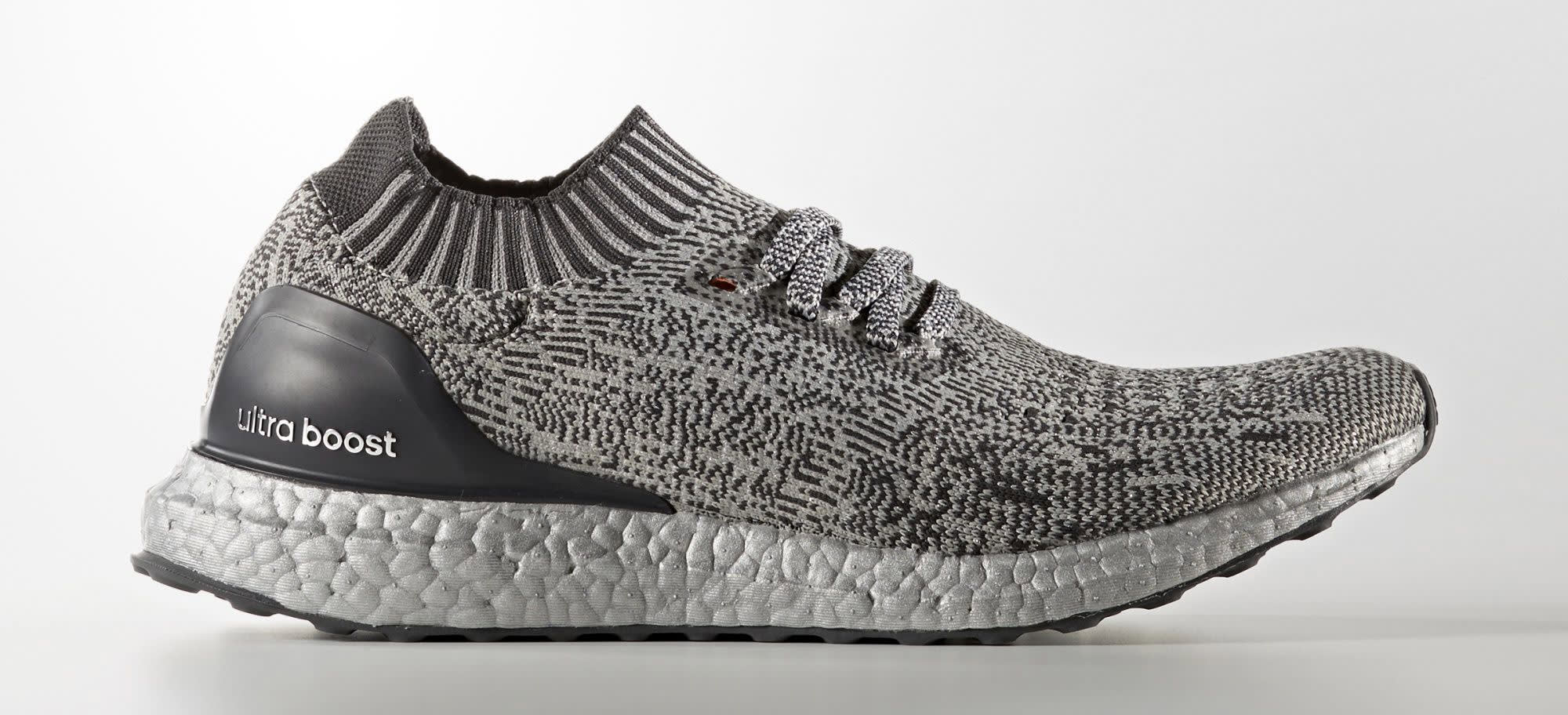 Silver Adidas Ultra Boost Uncaged