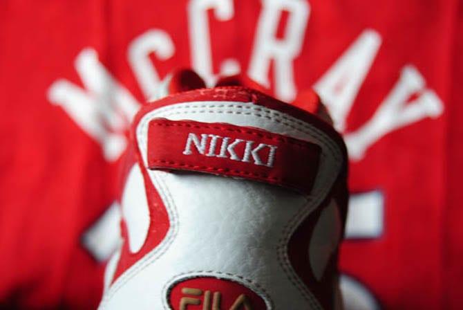 Nikki McCray Fila Sneakers