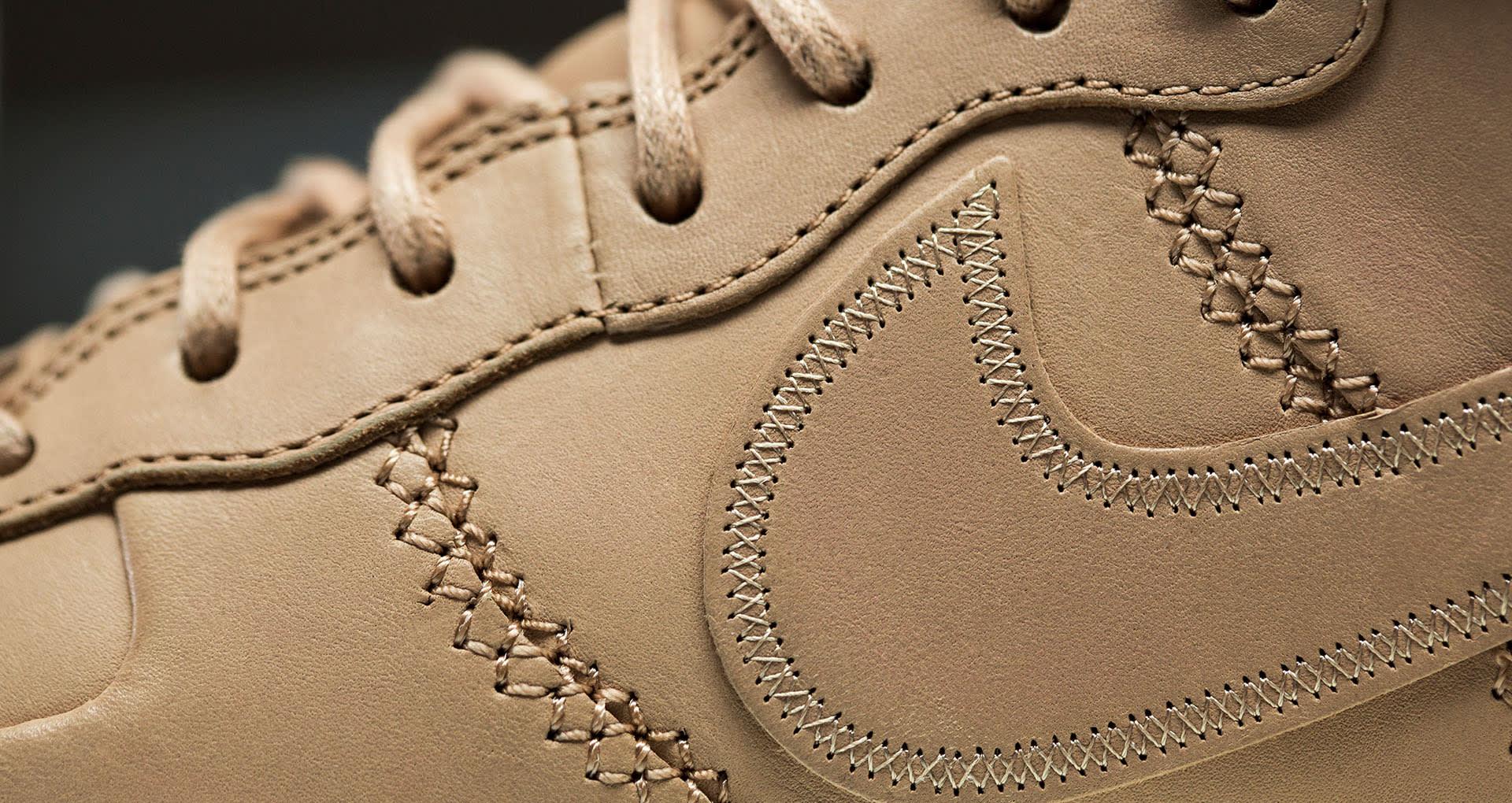 Nike Air Force 1 Sport Luxury Vachetta Tan Leather