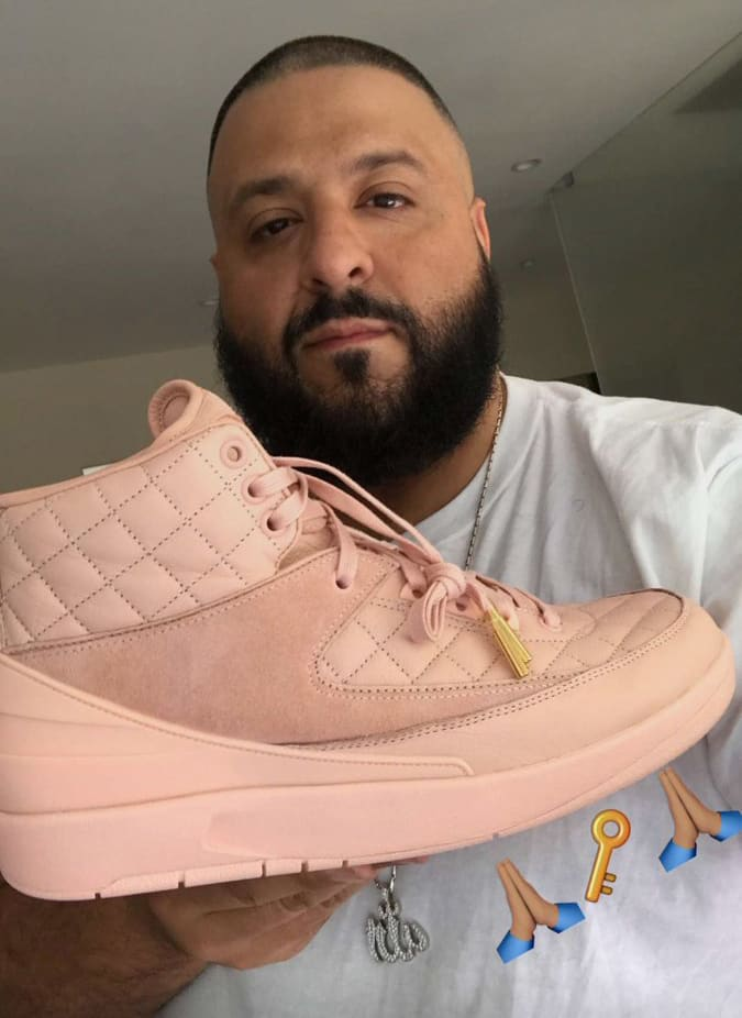 Pink Don C Jordan 2 DJ Khaled