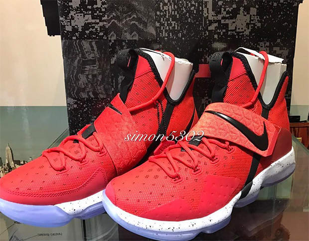 "Nike LeBron 14 ""University Red"""