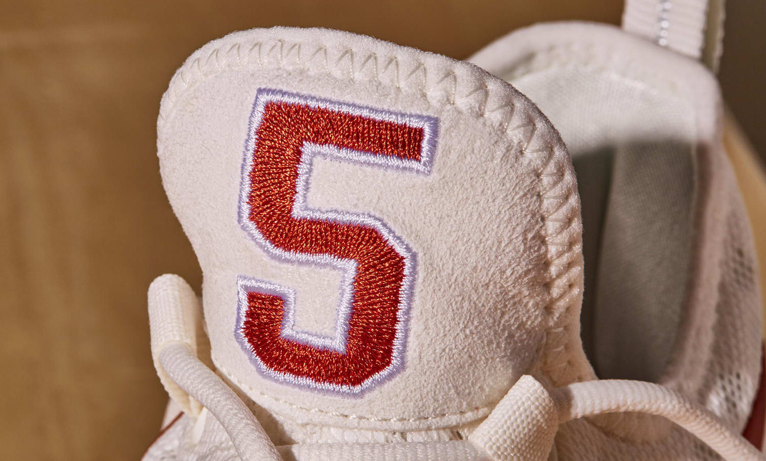finest selection beecc 513c1 ... Image via Nike Texas Nike KD 9 Tongue ...