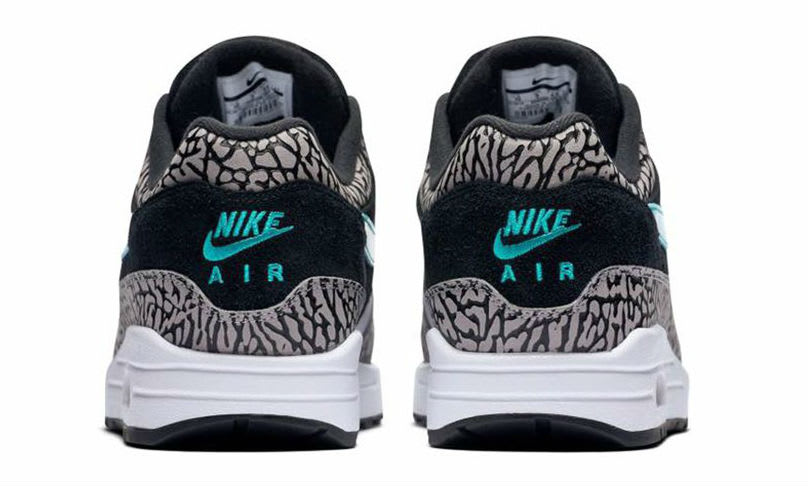 Nike Air Max 1 Atmos Elephant 2017 Release Date Heel