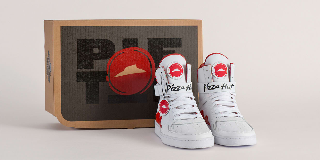 Pizza Hut Sneakers Box