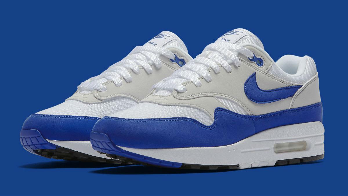 Nike Air Max 1 OG Blue Anniversary Release Date Main 908375-101