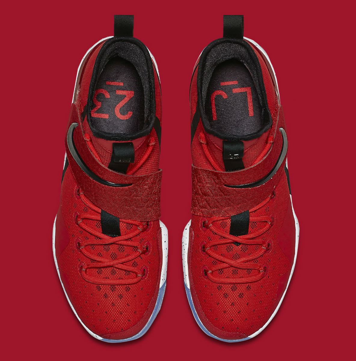 Nike LeBron 14 University Red Release Date Top 921084-600