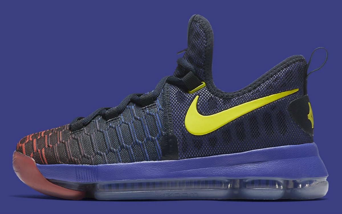 Nike KD 9 Roar From the Floor Release Date Profile 855908-484