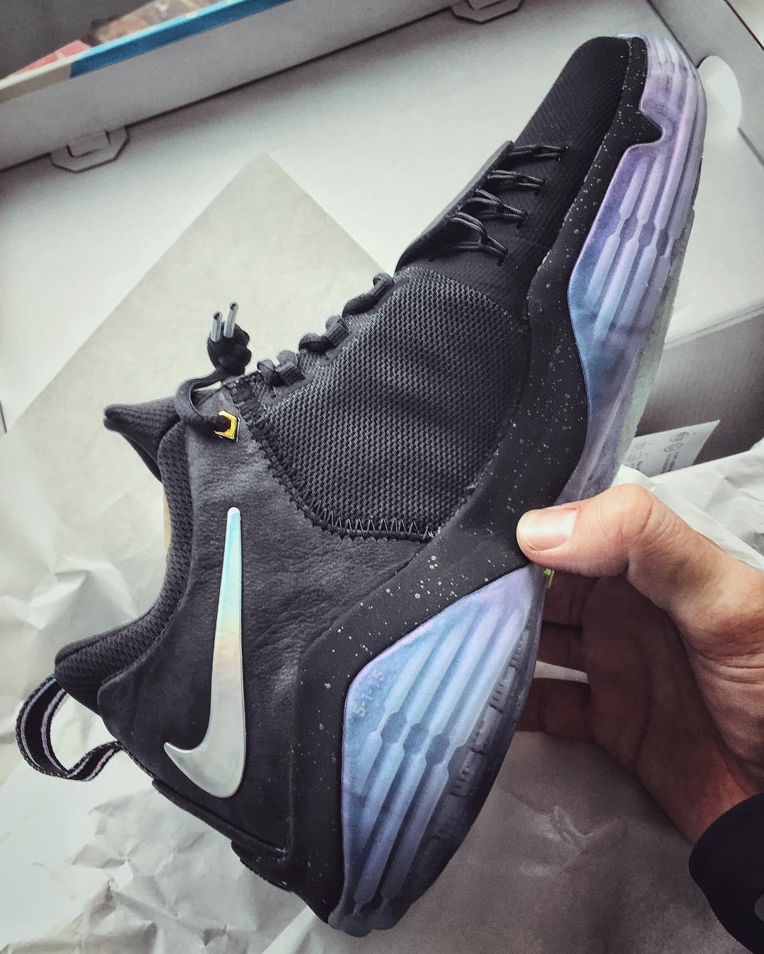 Nike PG1 Pre-Heat Black Multicolor Release Date Medial