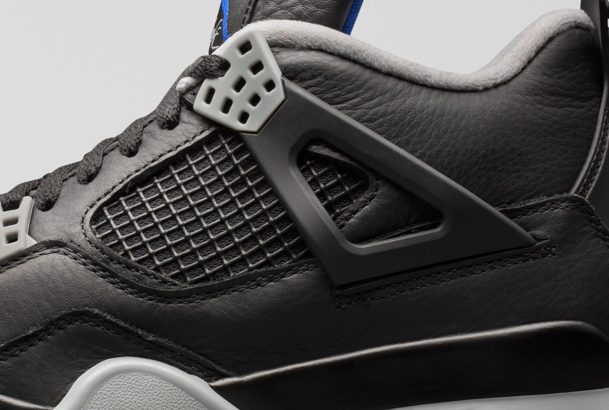 Air Jordan 4 Motorsports Alternate Detail
