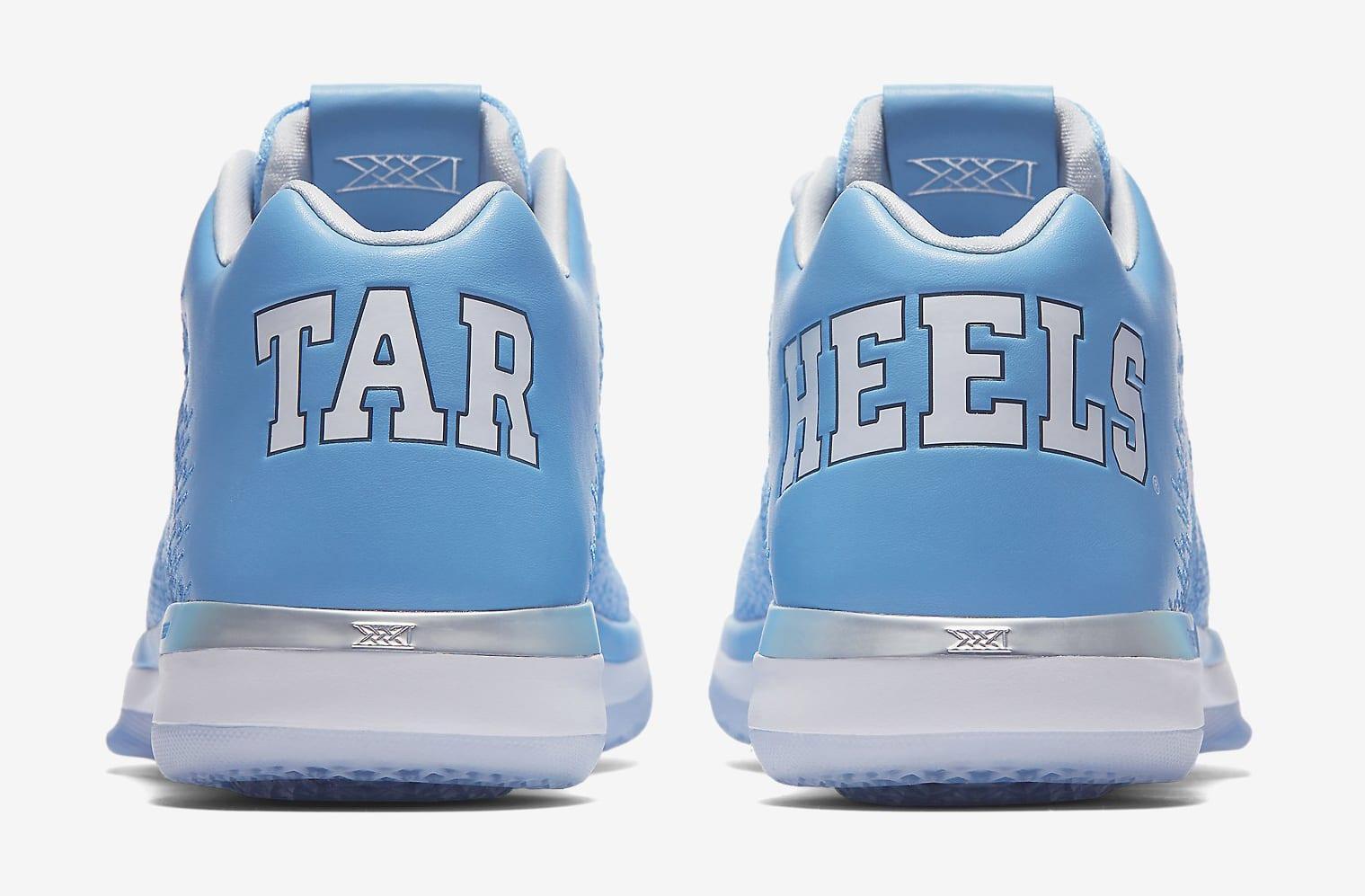 UNC Air Jordan 31 Heel