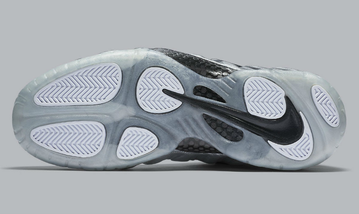 a365fc18558 Nike Air Foamposite Pro Silver Surfer Release Date Sole 616750-004