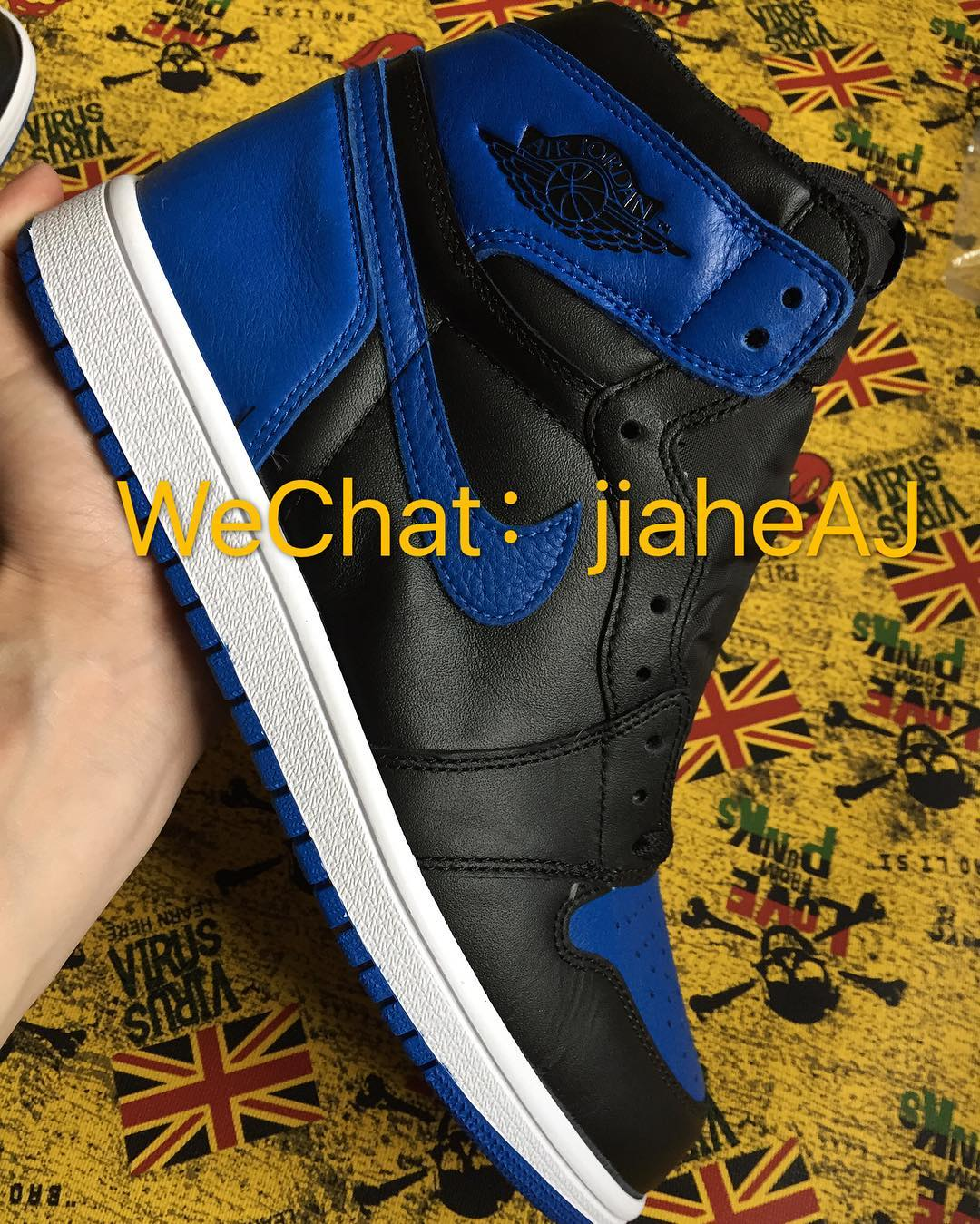 Air Jordan 1 Royal 2017 Release Date Side