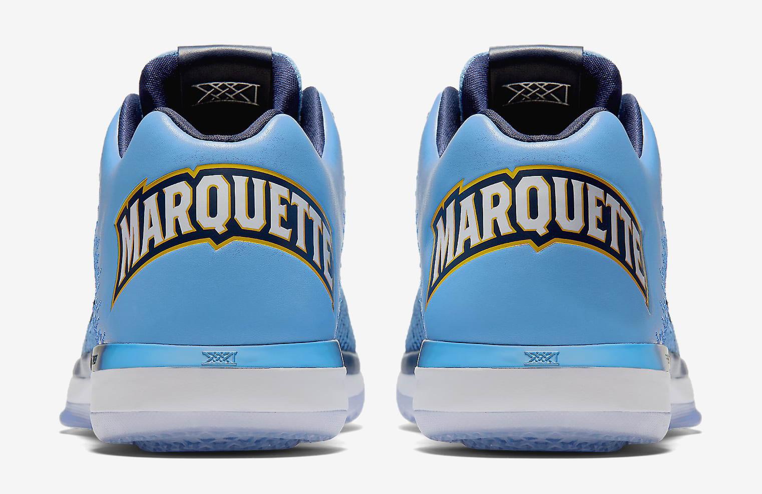 Marquette Air Jordan 31 Heel