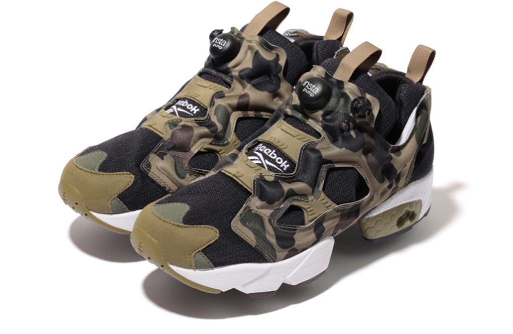 ... x Reebok Instapump Fury. A Bathing Ape joins forces with mita sneakers  for their latest joint venture.