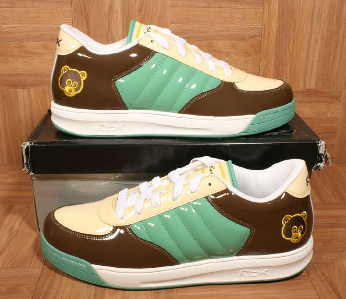 Kanye West Reebok S. Carter Classic Low Green/Yellow-Nut Brown