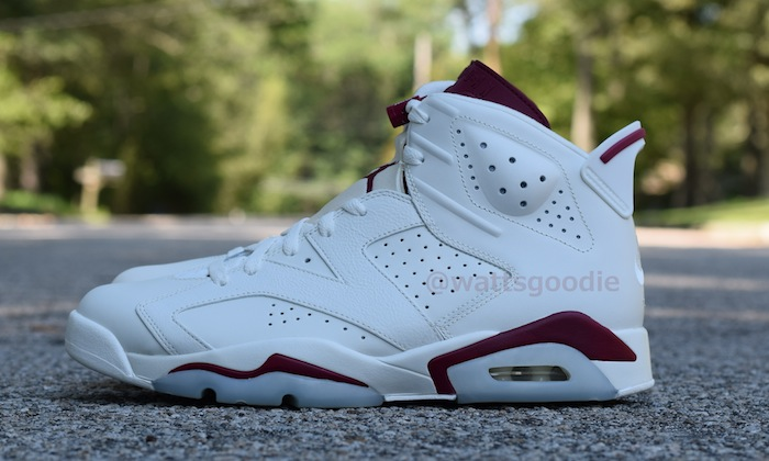 Air Jordan 6 Maroon 384664-116 (3)
