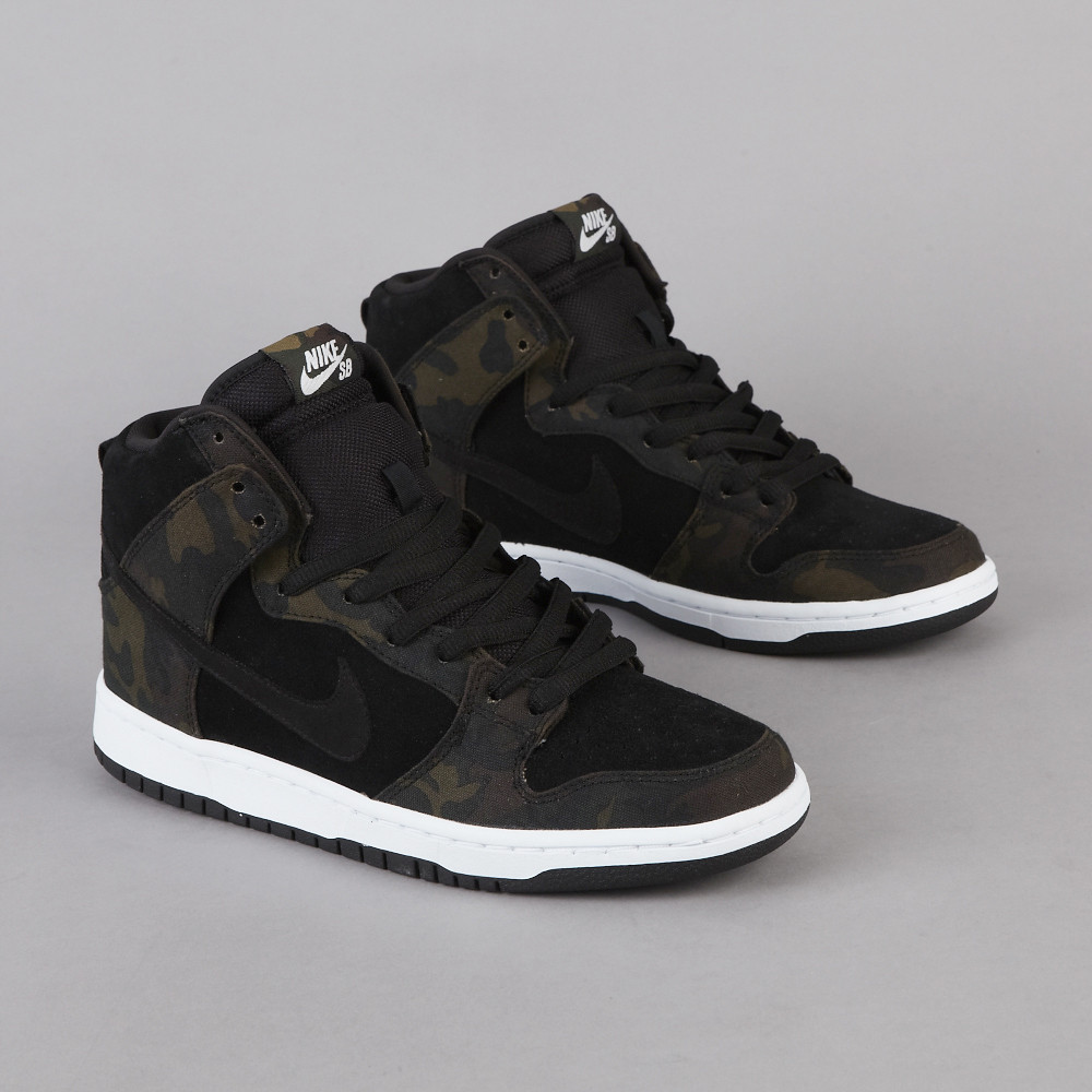 air max one noir et blanc pas cher - Nike SB Dunk High Pro - Iguana / Black | Sole Collector