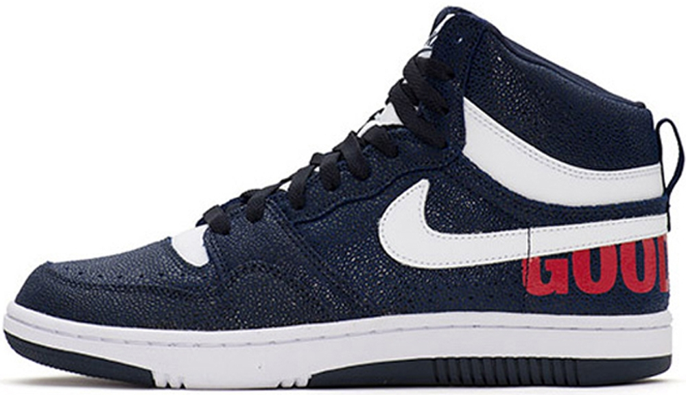 fragment design x NikeLab Court Force Mid GOODENOUGH Navy