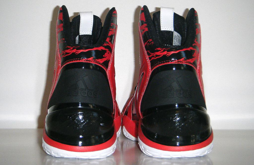 sports shoes f793b 2b5e1 adidas adiPower Howard 3 Red Black (4)