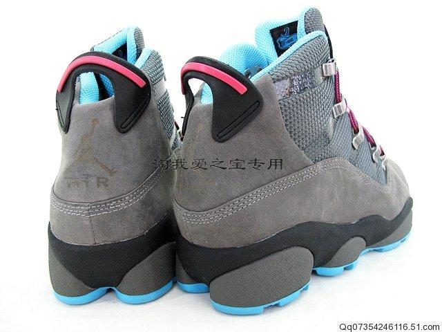 Jordan 6 Rings Winterized Cool Grey Chlorine Blue Black