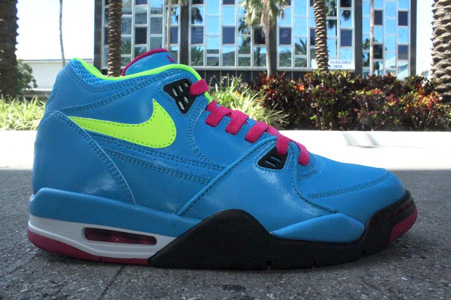 buy popular 398ef b4154 Nike Air Flight 89 London Dynamic Blue Fireberry 306252-400 (1)