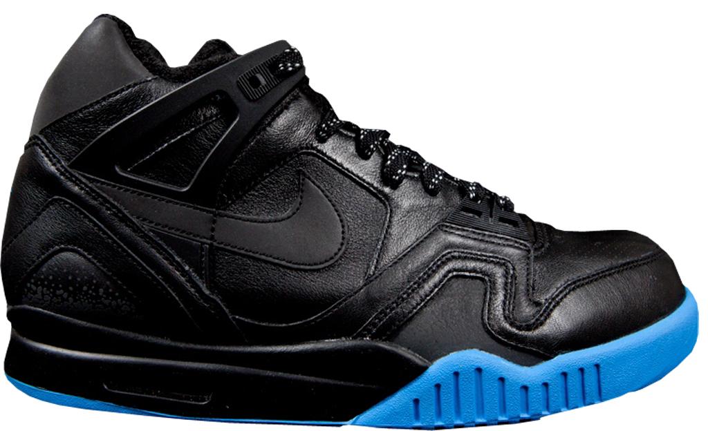 brand new 4d0ba a8551 Nike Air Tech Challenge II SP 'US Open' 621358-004 Black/Black-Light Photo  Blue 08/28/2013