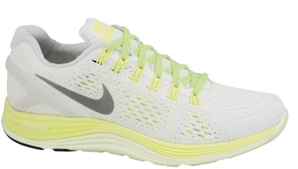 Nike Lunarglide+ 4 Women's Summit White/Reflective Silver-Volt-Barely-Volt