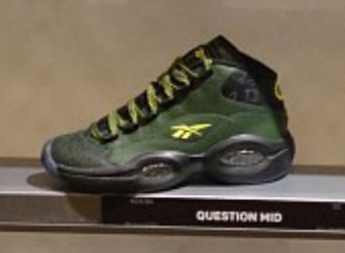 Reebok Question GS Green/Yellow