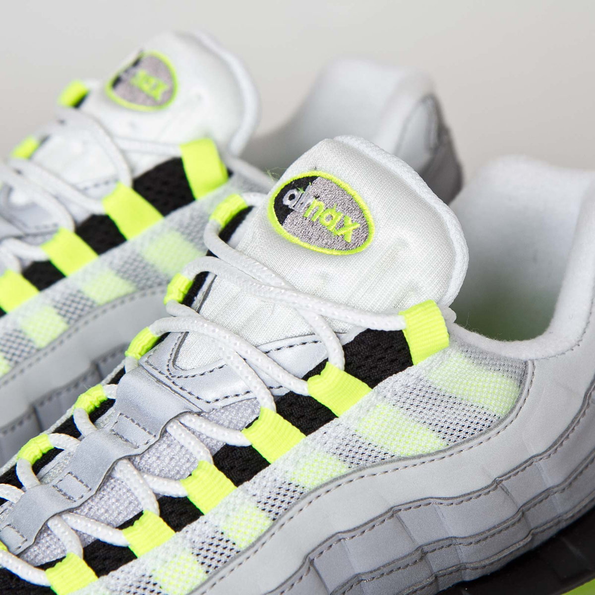 nike 39 s fully reflective 39 neon 39 air max 95 just released sole collector. Black Bedroom Furniture Sets. Home Design Ideas