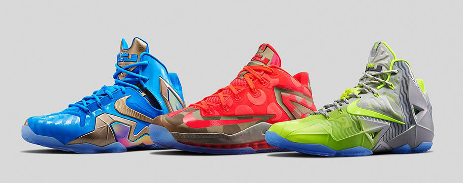 fe0ffbbde3b6 An Official Look at the  Maison LeBron  Nike LeBron 11 Collection ...