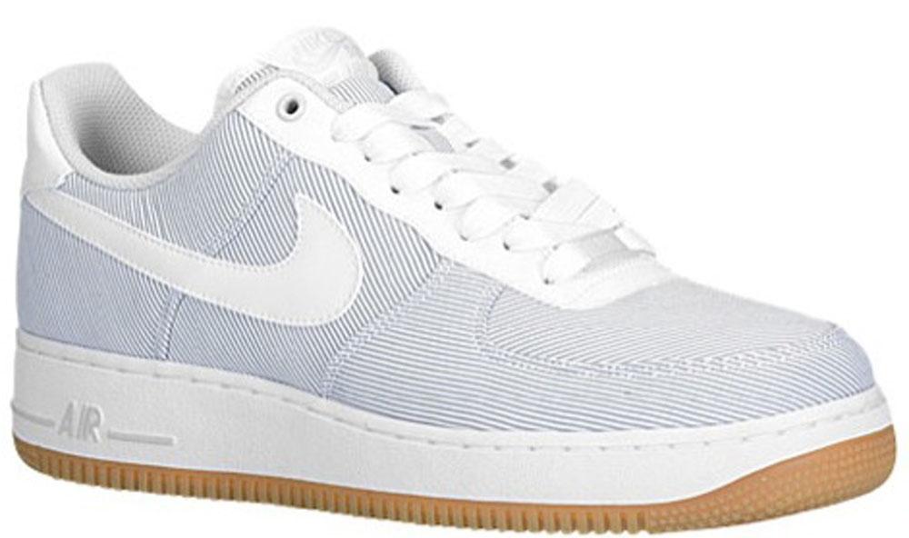 Nike Air Force 1 Low Pure Platinum/White-Gum Light Brown