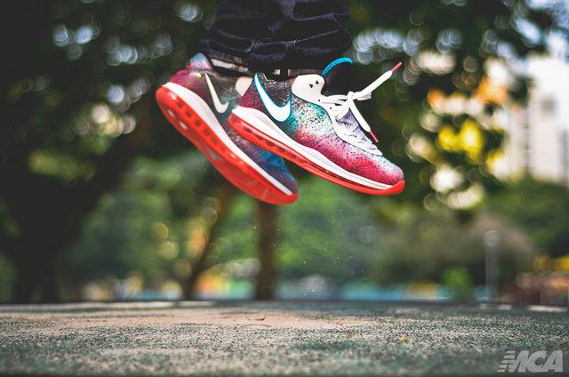buy popular 15490 6aaab Nike LeBron 8 V2 Low Miami Nights .. ...