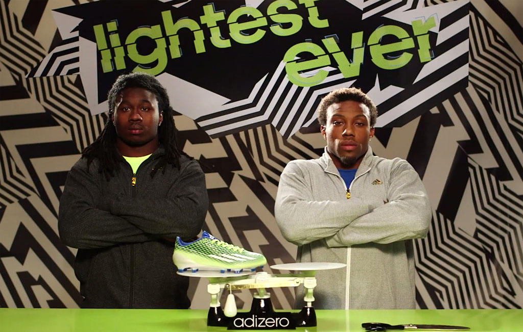 Sammy Watkins & Eric Berry Size Up the adidas adizero 5-Star 3.0's Competition