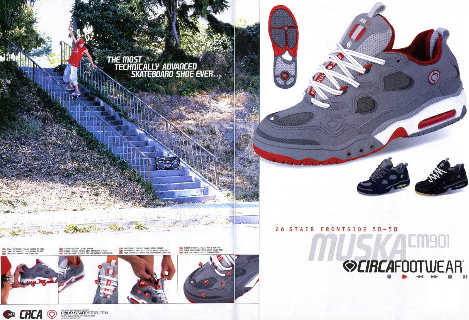 Vintage Ad Special Feature  Skate Shoes  0d981490153f